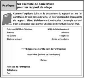 Rédiger Un Rapport De Stage Ou Un Mémoire Passeport